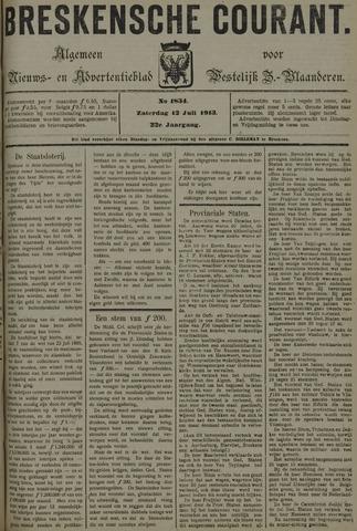 Breskensche Courant 1913-07-12