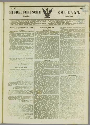 Middelburgsche Courant 1847-02-09