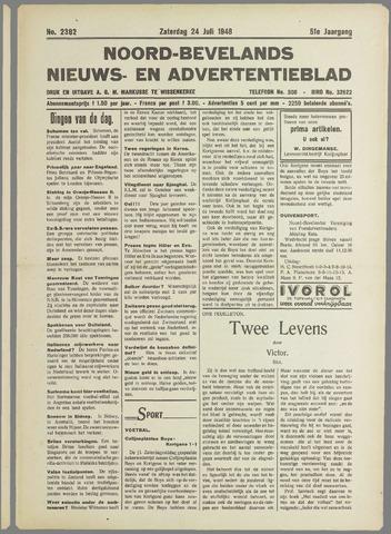 Noord-Bevelands Nieuws- en advertentieblad 1948-07-24