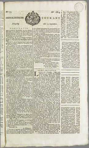 Zierikzeesche Courant 1814-09-13
