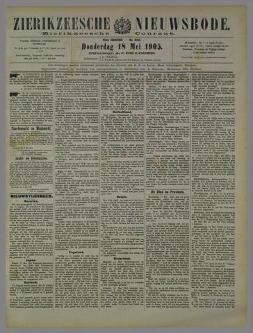 Zierikzeesche Nieuwsbode 1905-05-18