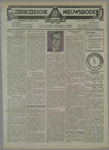 Zierikzeesche Nieuwsbode 1937-06-29