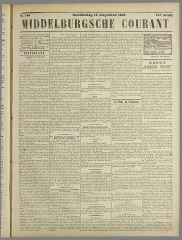 Middelburgsche Courant 1919-08-14