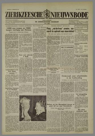 Zierikzeesche Nieuwsbode 1955-02-08