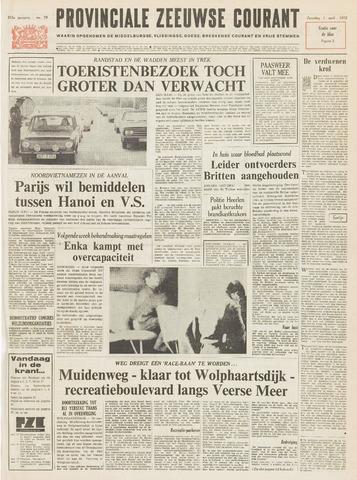 Provinciale Zeeuwse Courant 1972-04-01