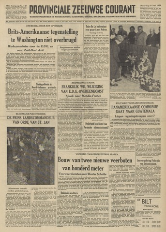 Provinciale Zeeuwse Courant 1954-06-28