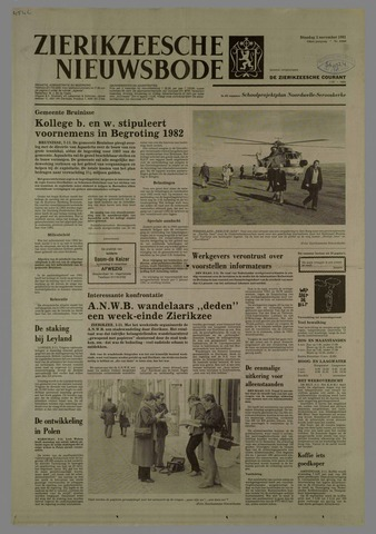 Zierikzeesche Nieuwsbode 1981-11-03