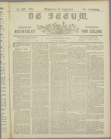 De Zeeuw. Christelijk-historisch nieuwsblad voor Zeeland 1912-08-14