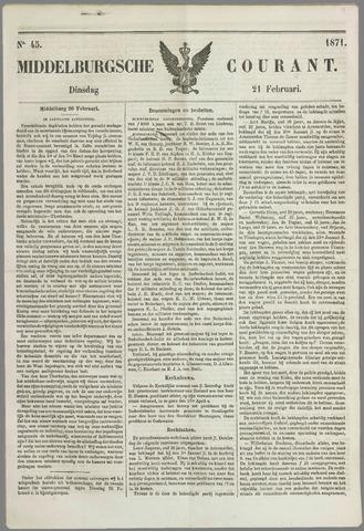 Middelburgsche Courant 1871-02-21