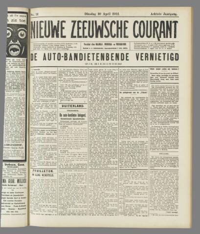 Nieuwe Zeeuwsche Courant 1912-04-30