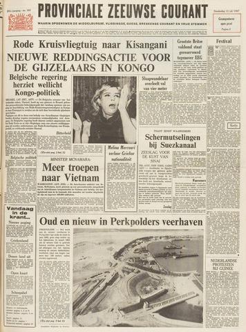 Provinciale Zeeuwse Courant 1967-07-13