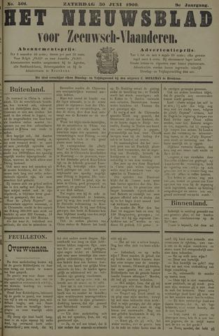 Nieuwsblad voor Zeeuwsch-Vlaanderen 1900-06-30