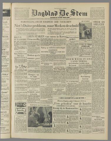 de Stem 1950-12-23