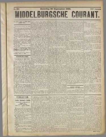 Middelburgsche Courant 1922-09-23
