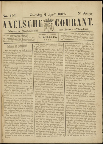 Axelsche Courant 1887-04-02