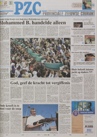 Provinciale Zeeuwse Courant 2005-07-12