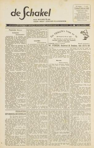 De Schakel 1964-02-21