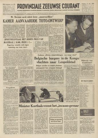 Provinciale Zeeuwse Courant 1960-07-08