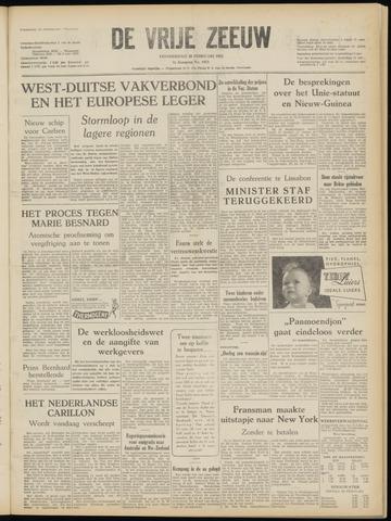 de Vrije Zeeuw 1952-02-28