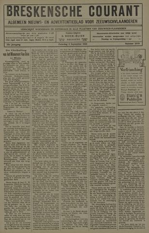 Breskensche Courant 1924-09-06