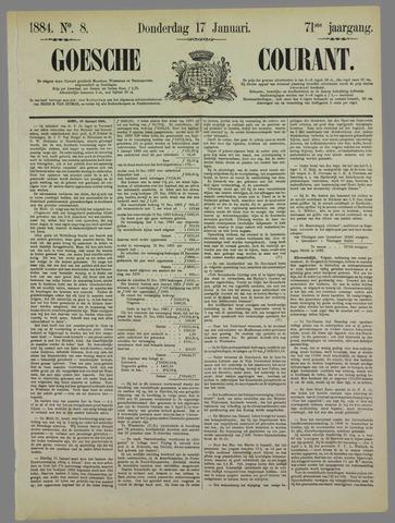 Goessche Courant 1884-01-17