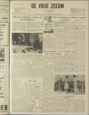 de Vrije Zeeuw 1962-11-20