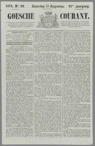 Goessche Courant 1874-08-15