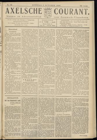 Axelsche Courant 1936-10-06