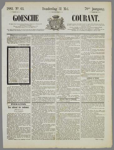 Goessche Courant 1883-05-31
