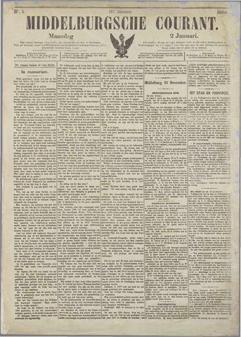 Middelburgsche Courant 1899-01-02
