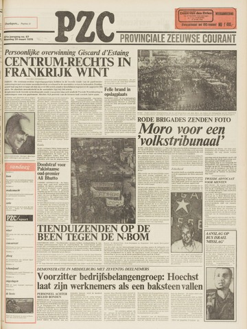Provinciale Zeeuwse Courant 1978-03-20
