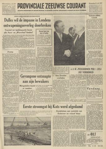 Provinciale Zeeuwse Courant 1957-07-31