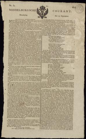 Middelburgsche Courant 1814-09-15