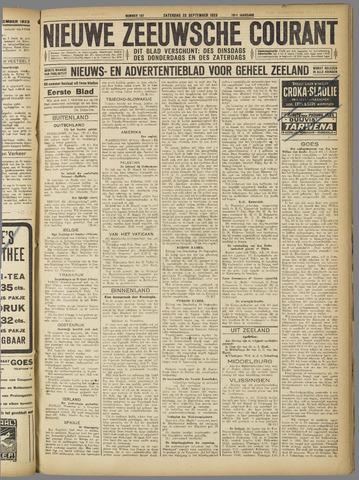Nieuwe Zeeuwsche Courant 1923-09-22