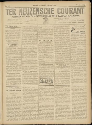 Ter Neuzensche Courant. Algemeen Nieuws- en Advertentieblad voor Zeeuwsch-Vlaanderen / Neuzensche Courant ... (idem) / (Algemeen) nieuws en advertentieblad voor Zeeuwsch-Vlaanderen 1930-11-24