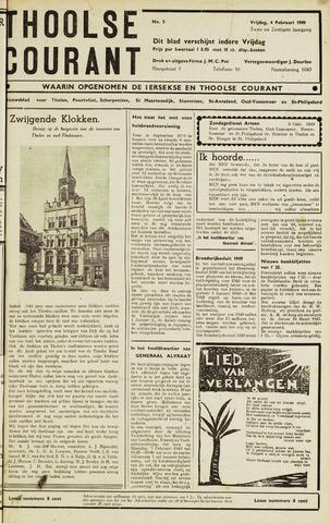 Ierseksche en Thoolsche Courant 1949-02-04