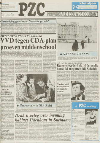 Provinciale Zeeuwse Courant 1984-02-03