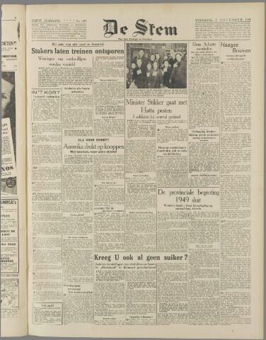 de Stem 1948-11-03