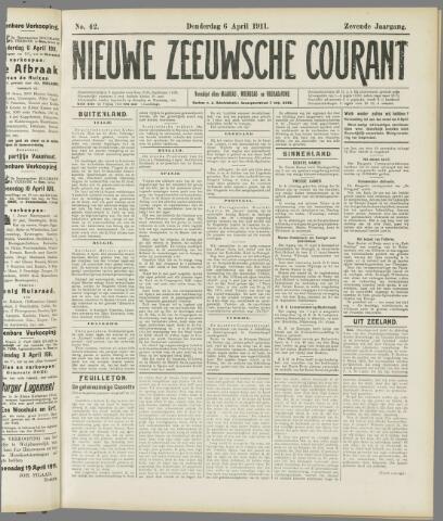 Nieuwe Zeeuwsche Courant 1911-04-06