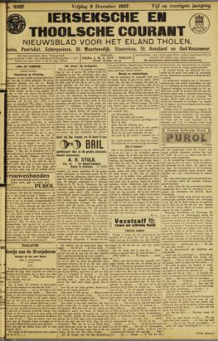 Ierseksche en Thoolsche Courant 1927-12-09