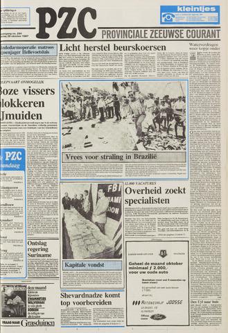 Provinciale Zeeuwse Courant 1987-10-28