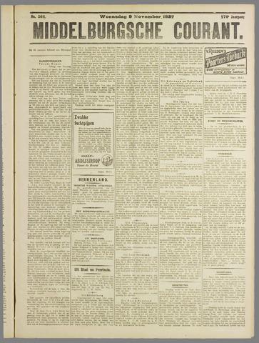 Middelburgsche Courant 1927-11-09