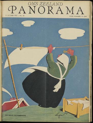 Ons Zeeland / Zeeuwsche editie 1937-10-21