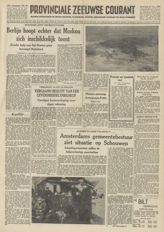 Provinciale Zeeuwse Courant 1954-01-23