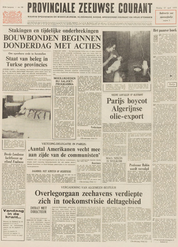 Provinciale Zeeuwse Courant 1971-04-27