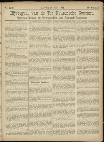 Ter Neuzensche Courant. Algemeen Nieuws- en Advertentieblad voor Zeeuwsch-Vlaanderen / Neuzensche Courant ... (idem) / (Algemeen) nieuws en advertentieblad voor Zeeuwsch-Vlaanderen 1891-03-28