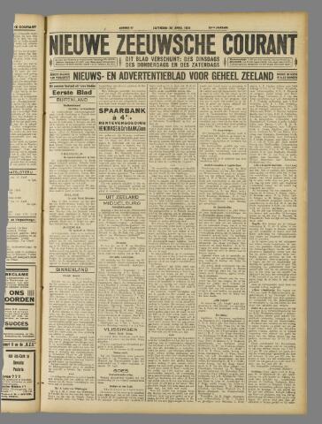 Nieuwe Zeeuwsche Courant 1929-04-20