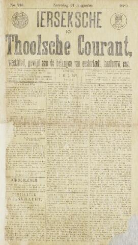 Ierseksche en Thoolsche Courant 1889-08-31
