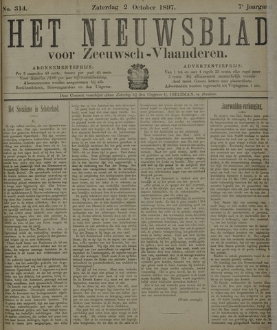 Nieuwsblad voor Zeeuwsch-Vlaanderen 1897-10-02