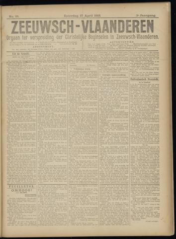 Luctor et Emergo. Antirevolutionair nieuws- en advertentieblad voor Zeeland / Zeeuwsch-Vlaanderen. Orgaan ter verspreiding van de christelijke beginselen in Zeeuwsch-Vlaanderen 1918-04-27